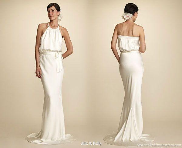 Braided Wedding Dress