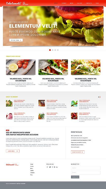 Fast food restaurant joomla template template web design fast food restaurant joomla template 44275 forumfinder Images