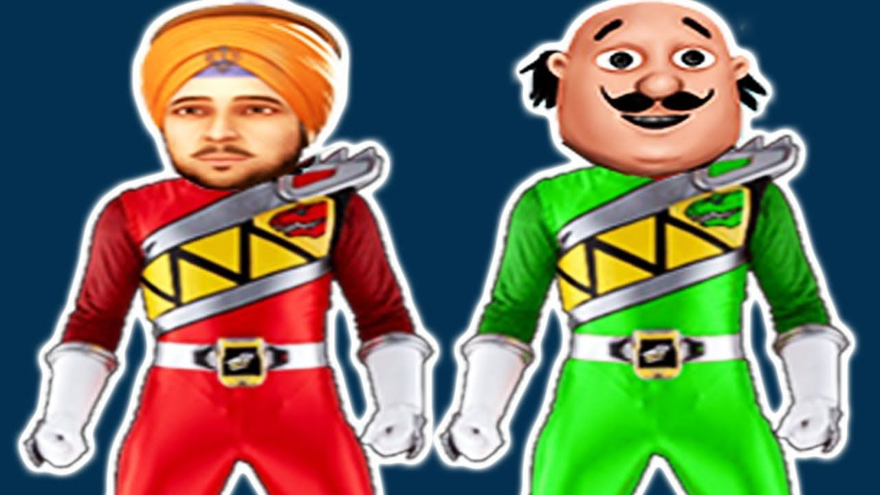 Patlu Transform Into Disney Princess Finger Family 6 Motu Patlu