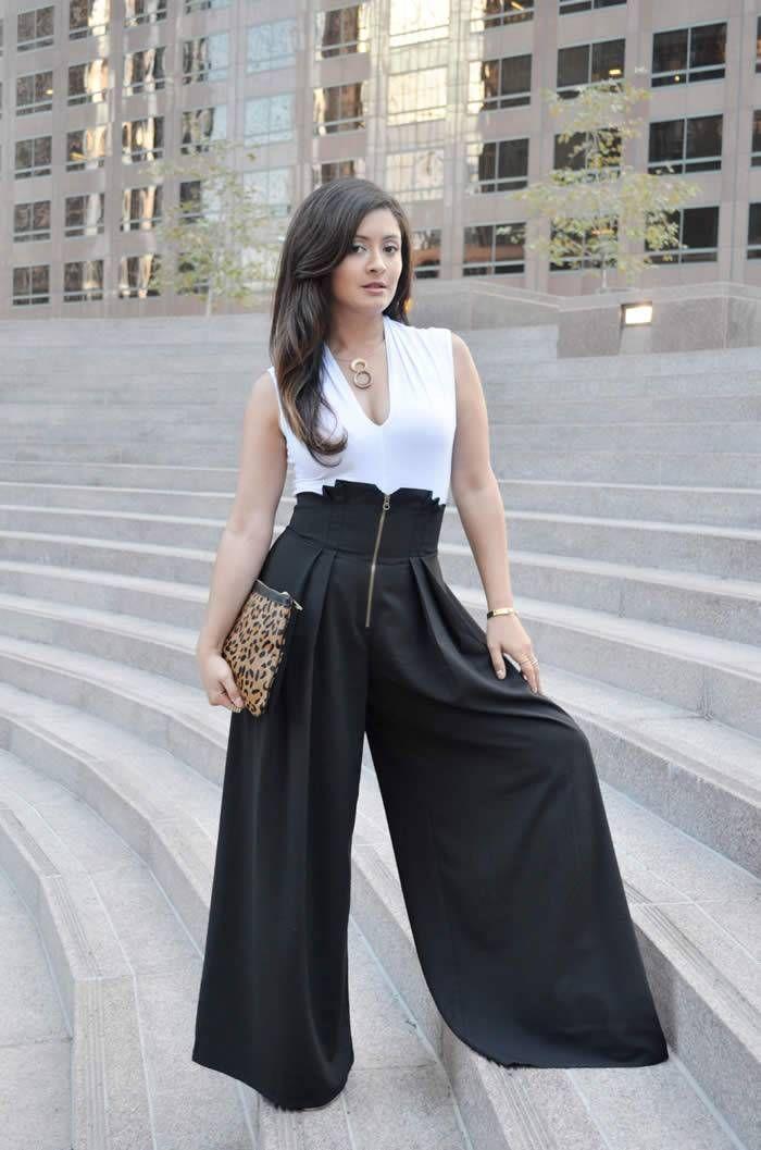 Photo of Ideas elegantes para el verano con pantalones anchos Stylish Summer Outfit Ideas…