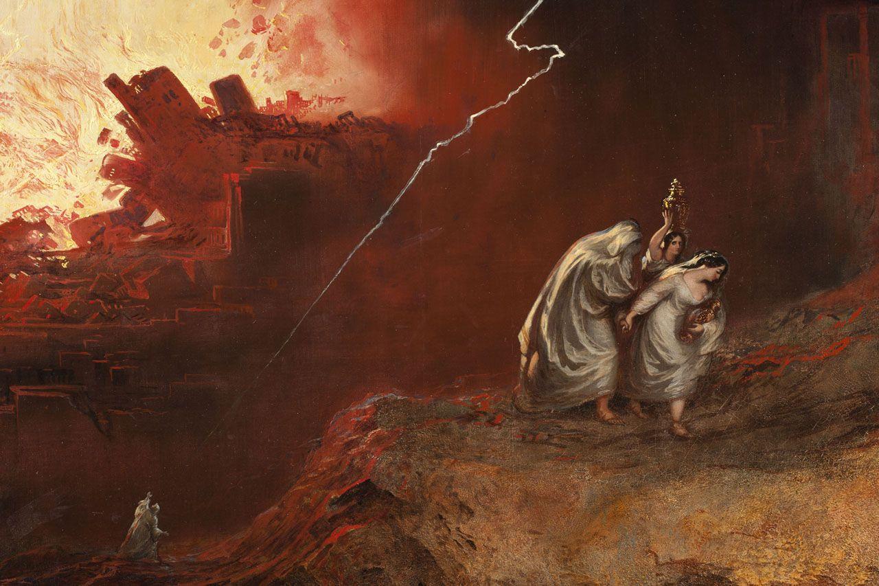 The Destruction of Sodom and Gomorrah by John Martin, 1852  | John