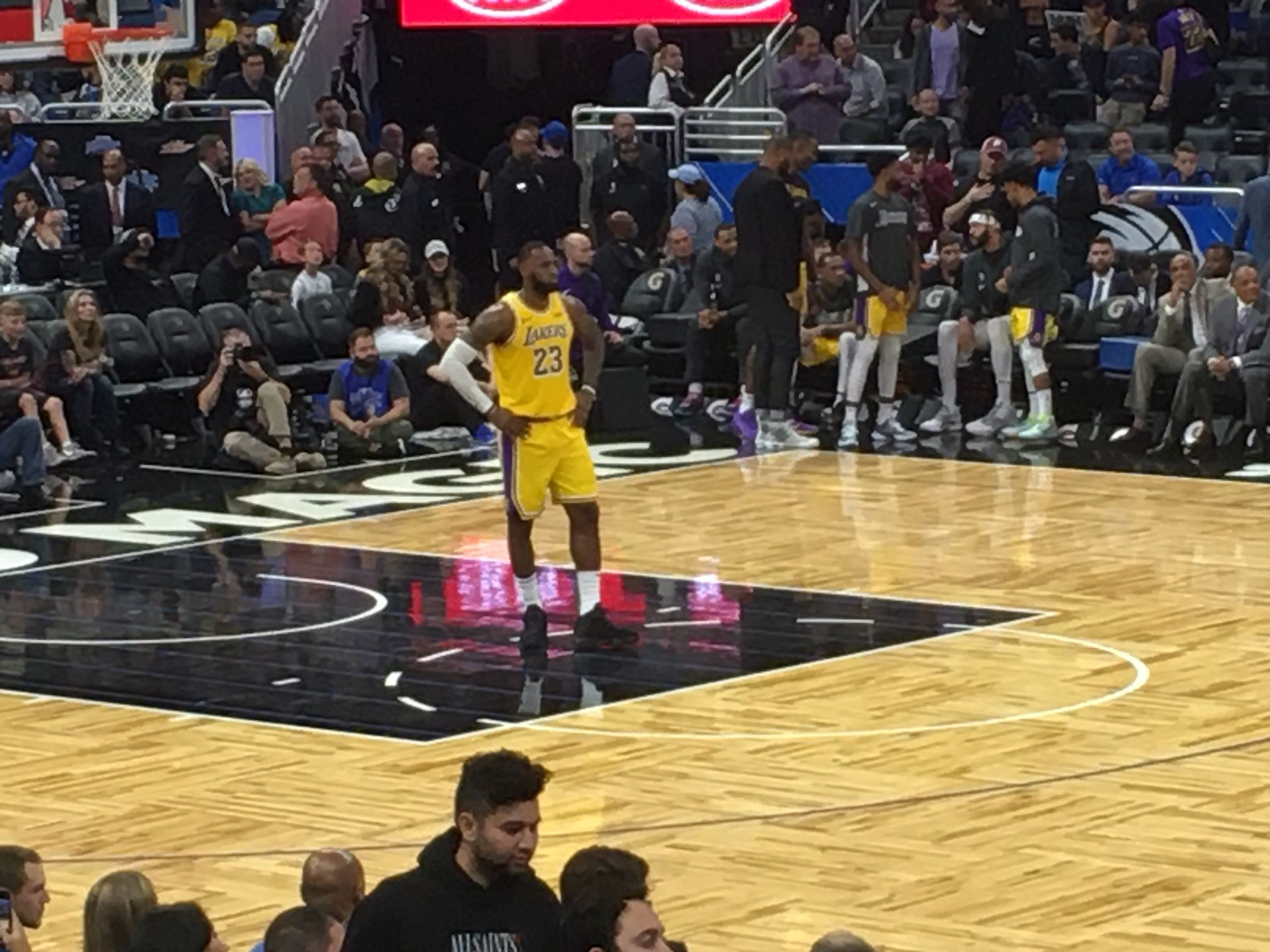 Several Things I Learned From Watching The Lakers Destroy The Orlando Magic Amway Center Dec 11 2019 Orlando Magic Lakers Amway