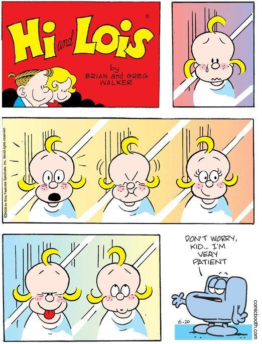 9 Funny Tegneserier I Loved HI og Lois Tegneseriestriber-3163