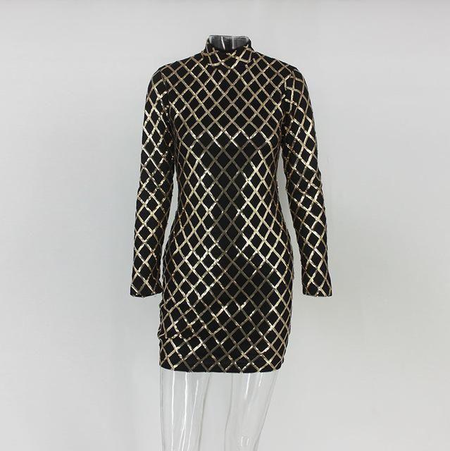 754d1b217c06e NATTEMAID Women Autumn Winter Dress Sexy Black long sleeve Dresses ...