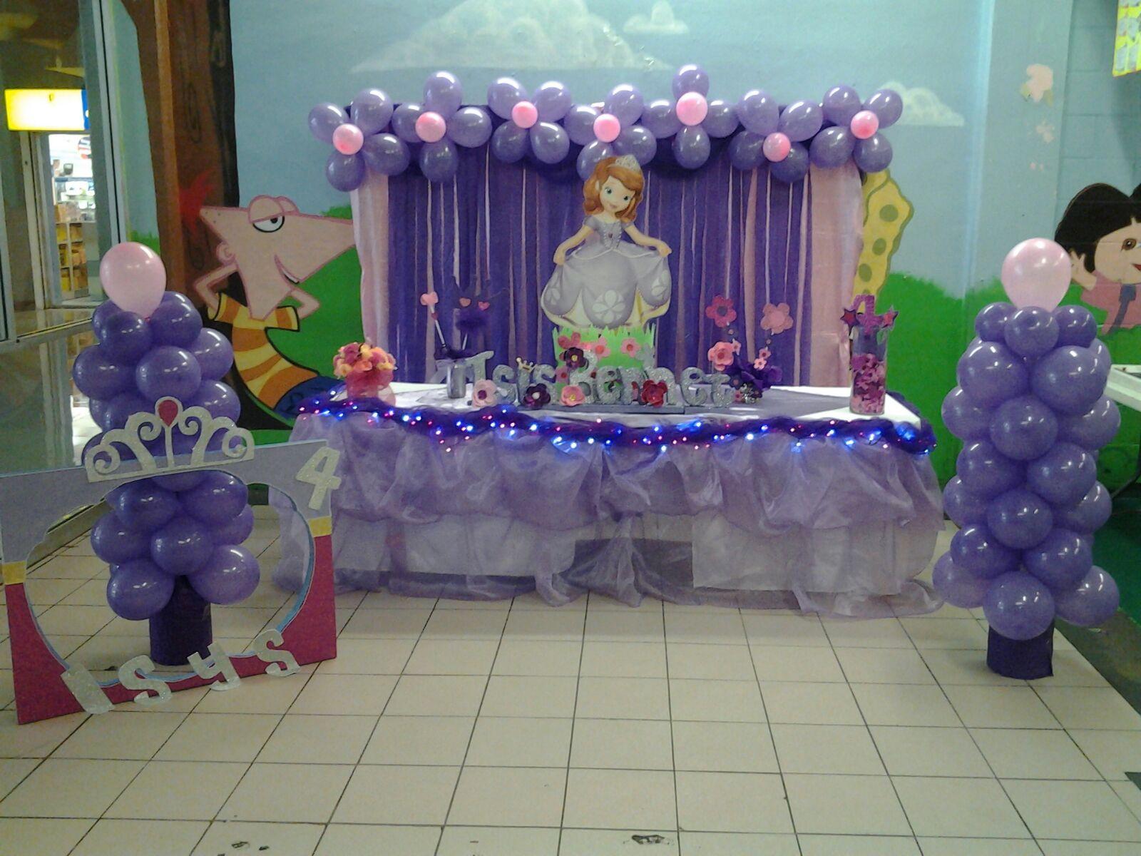 Decoracion Cumpleaos Princesas Resultado De Imagen Para