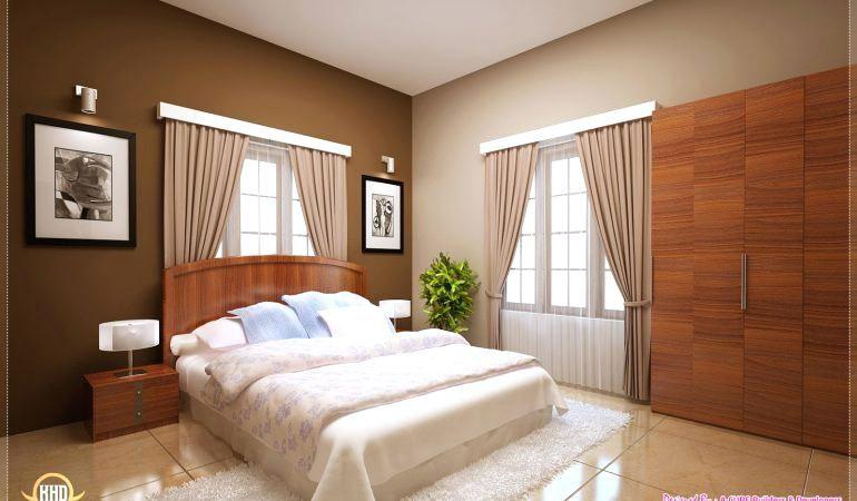 Simple Bedroom Design Kerala Style Simple Bedroom Interior