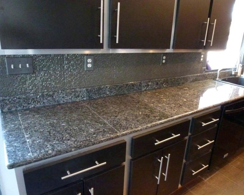 Granite Tiles For Countertops Contemporary Granite Tile Countertops Saura V Dutt Contemporary Counte In 2020 Granite Tile Countertops Tile Countertops Granite Tile
