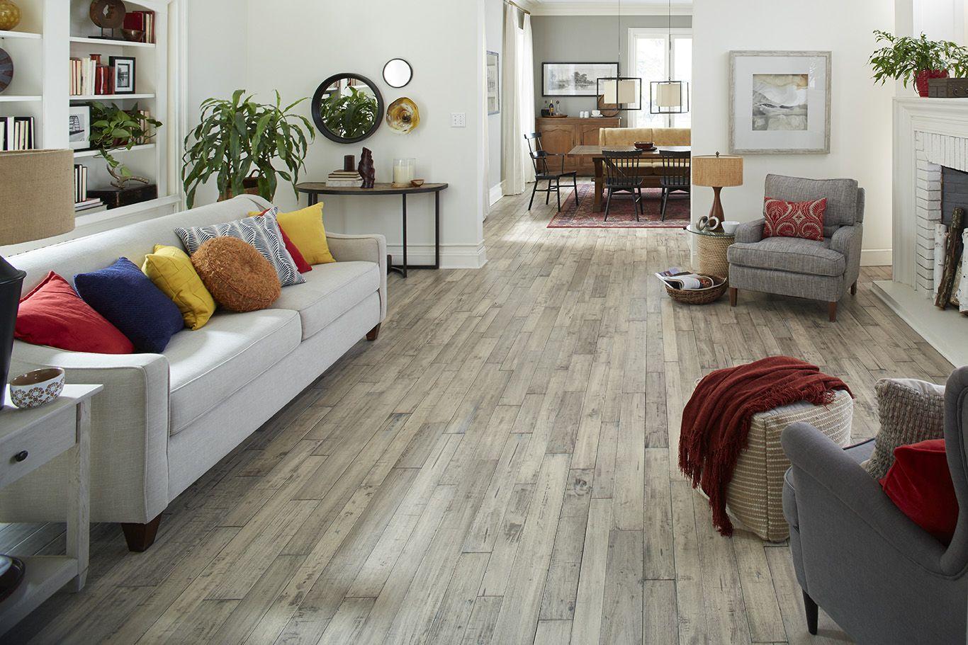 Impressions Flooring Hartwell Salt Solid Random Width Seringa