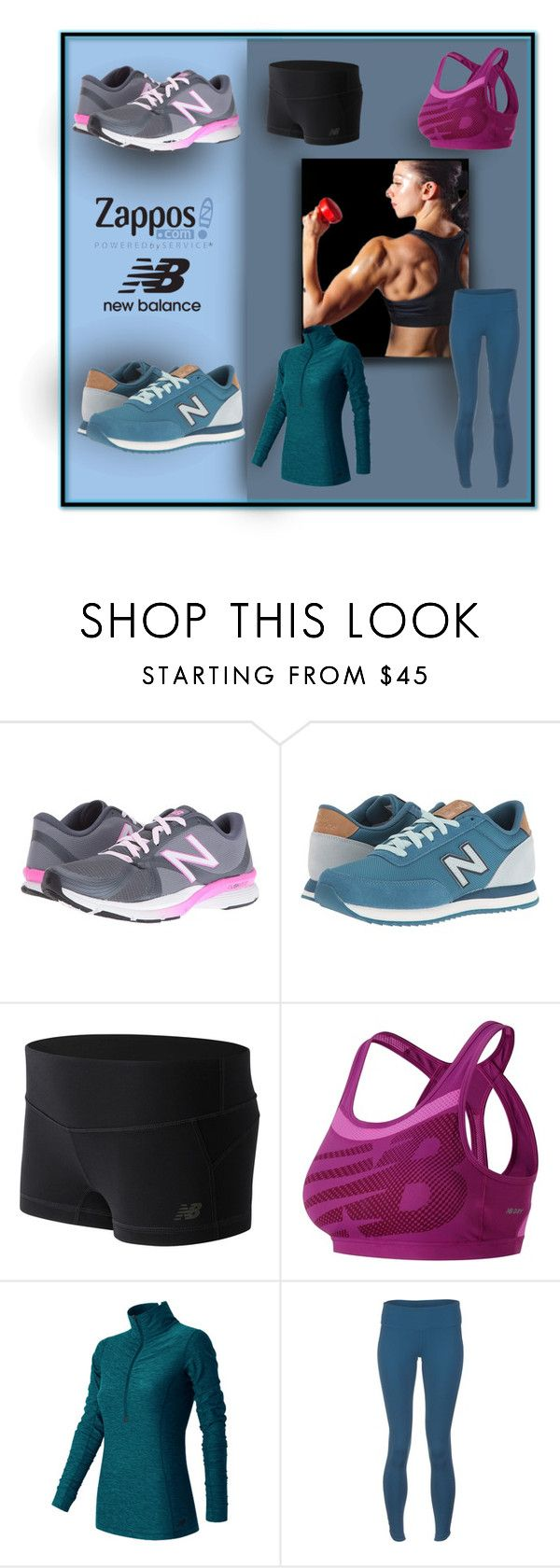 """""""Run the World in New Balance"""" by michelletheaflack ❤ liked on Polyvore featuring New Balance, New Balance Classics and NewBalance"""