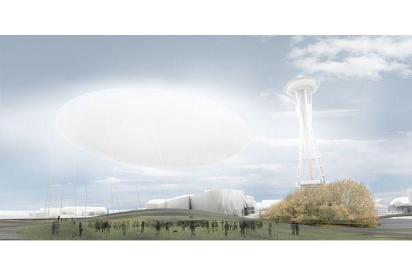 Urban Intervention Finalist: Seattle Jelly Bean by PRAUD