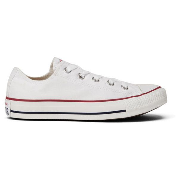 Star OX Canvas Trainers - Optical White