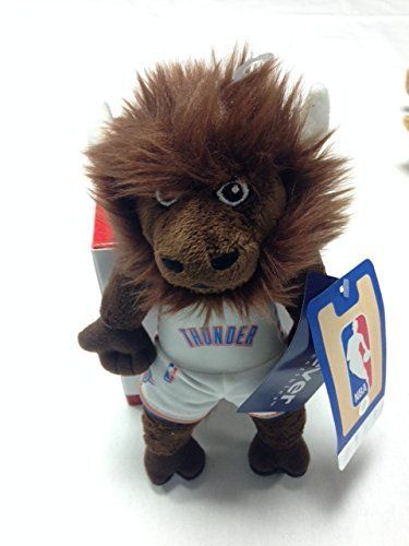 NBA Oklahoma City Thunder 8 Plush Mascot, Rumble the bison