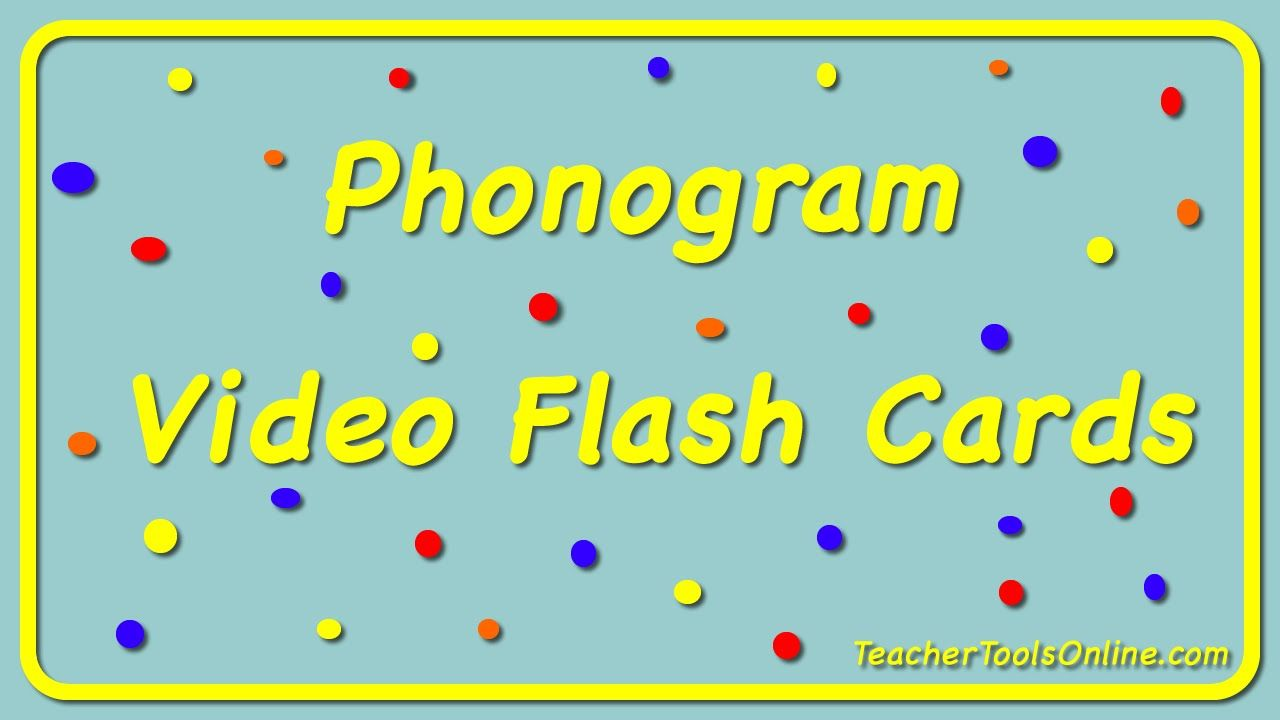 Spalding Phonogram Preview Video If You Teach Spalding You Will Love This Video Flash Check It Out In My Tpt Store Kindergarten Reading Phonics Flashcards [ 720 x 1280 Pixel ]