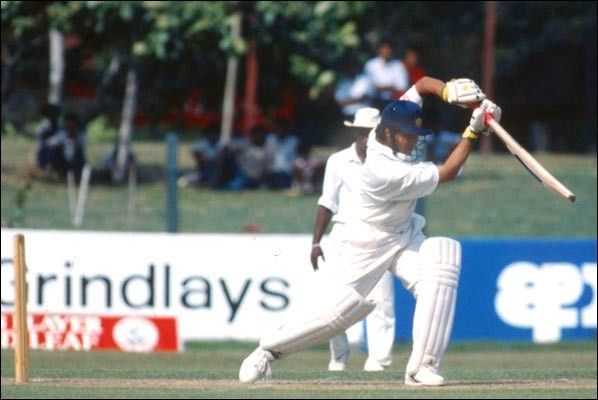 Century No 6 104 Vs Sri Lanka Colombo 1993 Sachin Tendulkar Century Baseball Cards