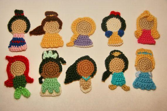 Crochet Butterfly Fairy Wings Appliqué || Easy Beginner DIY ... | 380x570