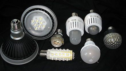 Led Lamp Wikipedia The Free Encyclopedia Led Lighting Home Light Bulb Bulb