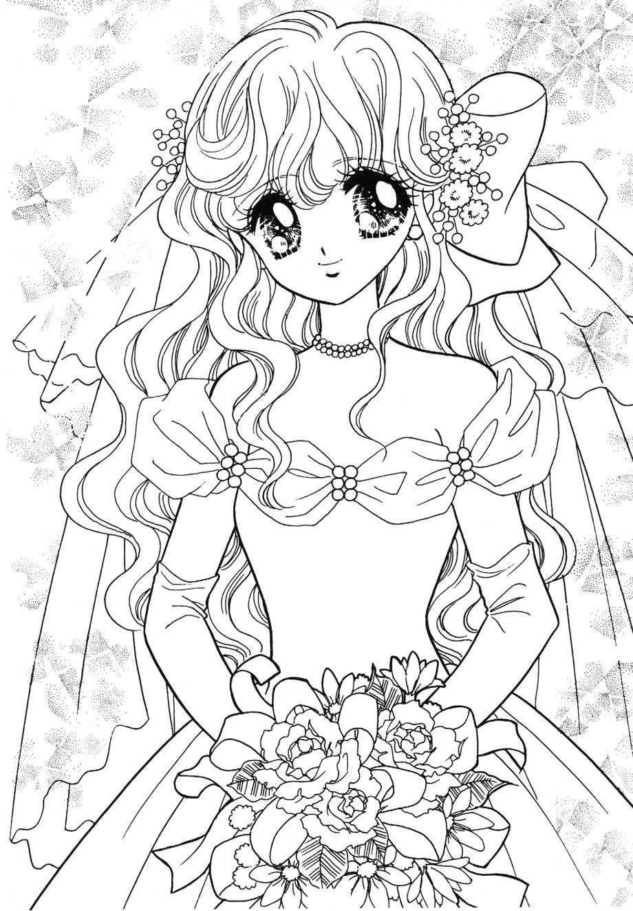 Pin by Heather Stout on AnimeManga Coloring Pages
