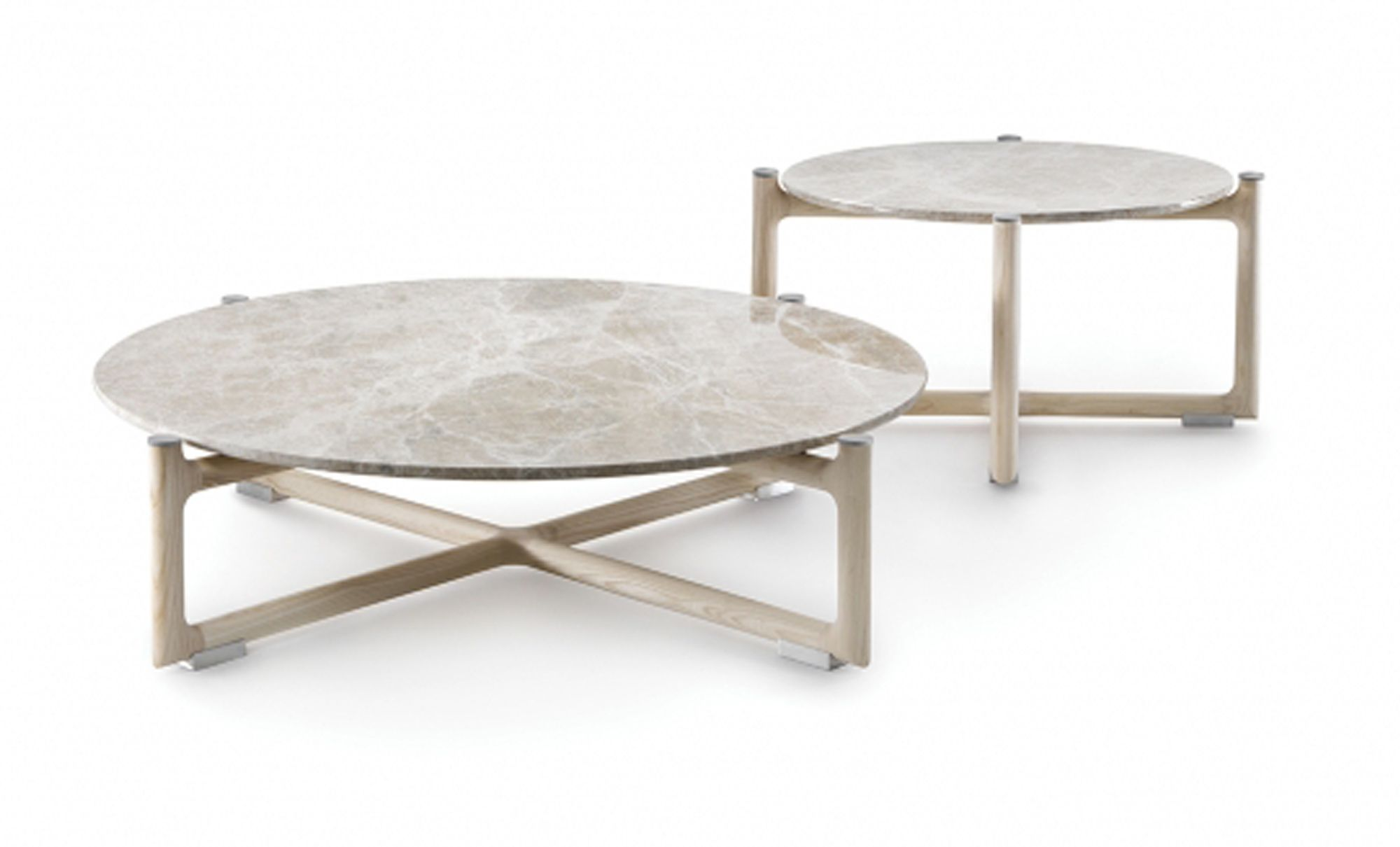 the icaro coffee table collection has a sturdy structure in solid