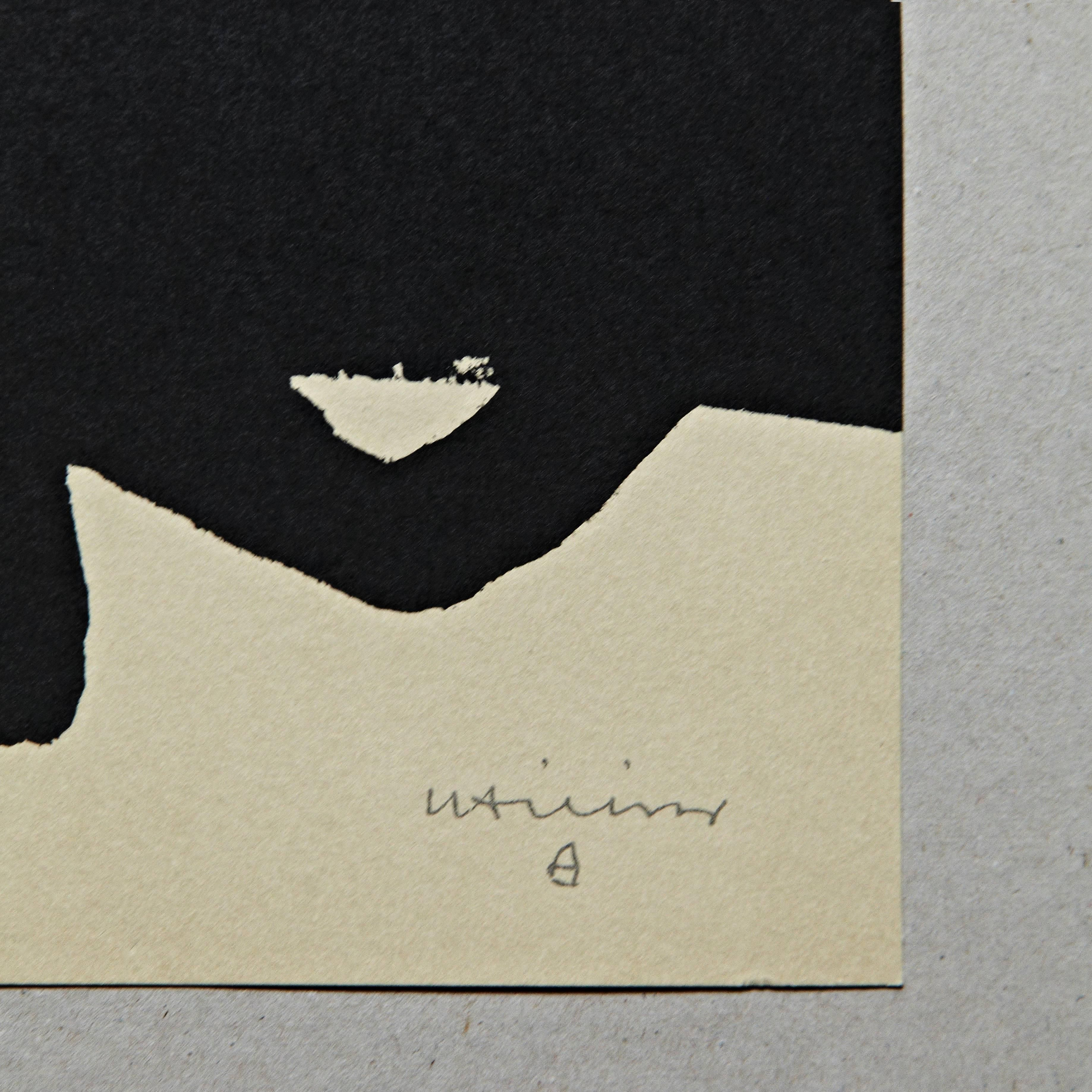 Eduardo Chillida Lithography Untitled For Sale At 1stdibs Lithography Prints Stone