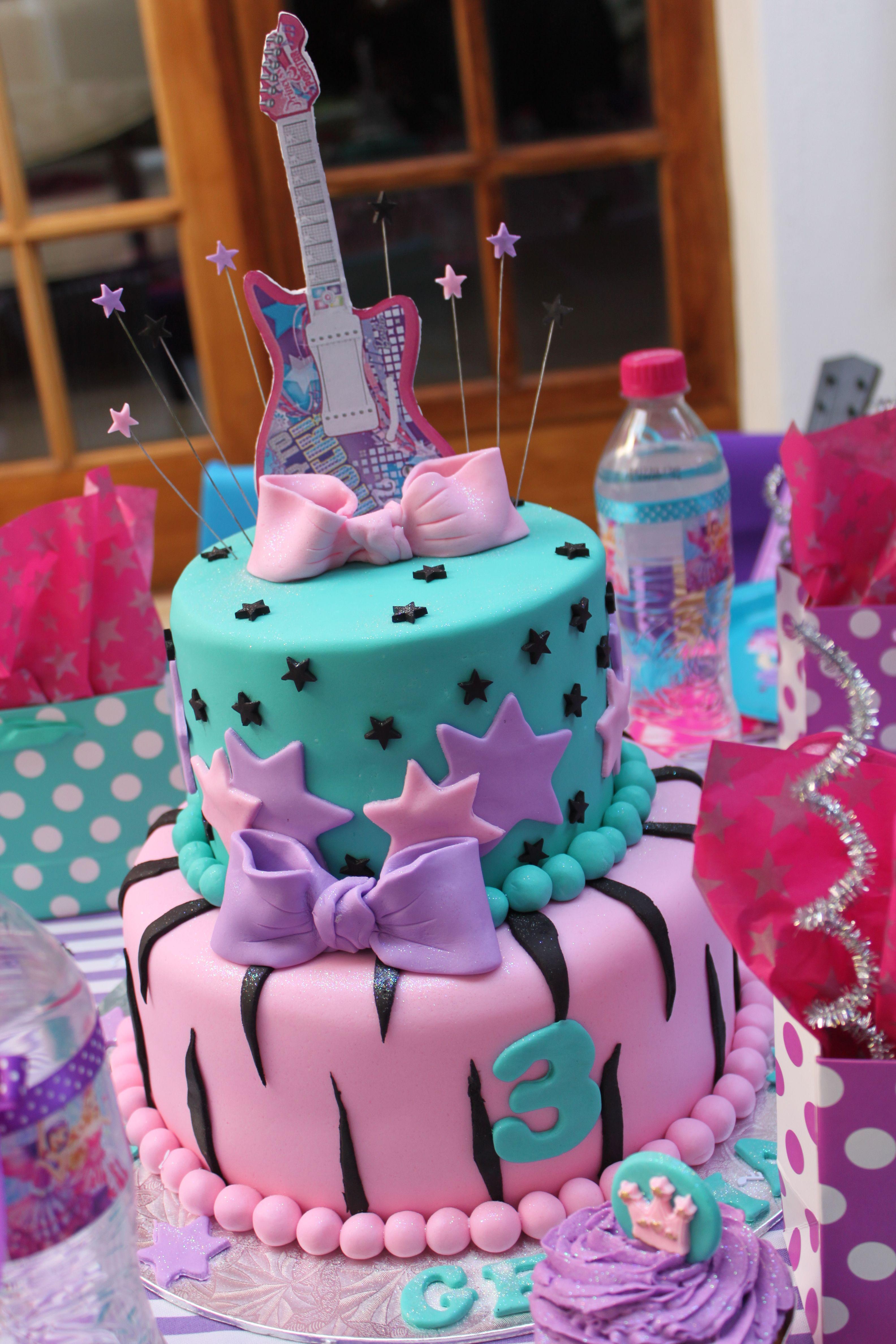 Barbie Pop Star Cake Barbie And The Pop Star Dance