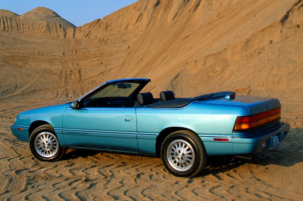 1990 95 Chrysler Lebaron Coupe Convertible With Images