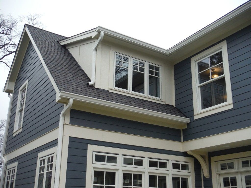 Project Name Boothbay Blue Lap With Cobblestone Board Batten Project Location Kirkwood Missouri 63122 Main Siding Exterior Siding Lap Siding Shingle Siding