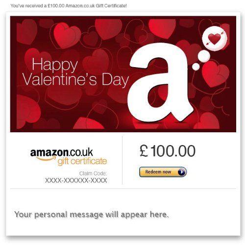 Nice Valentine S Day E Mail Amazon Co Uk Gift Card Amazon Gift