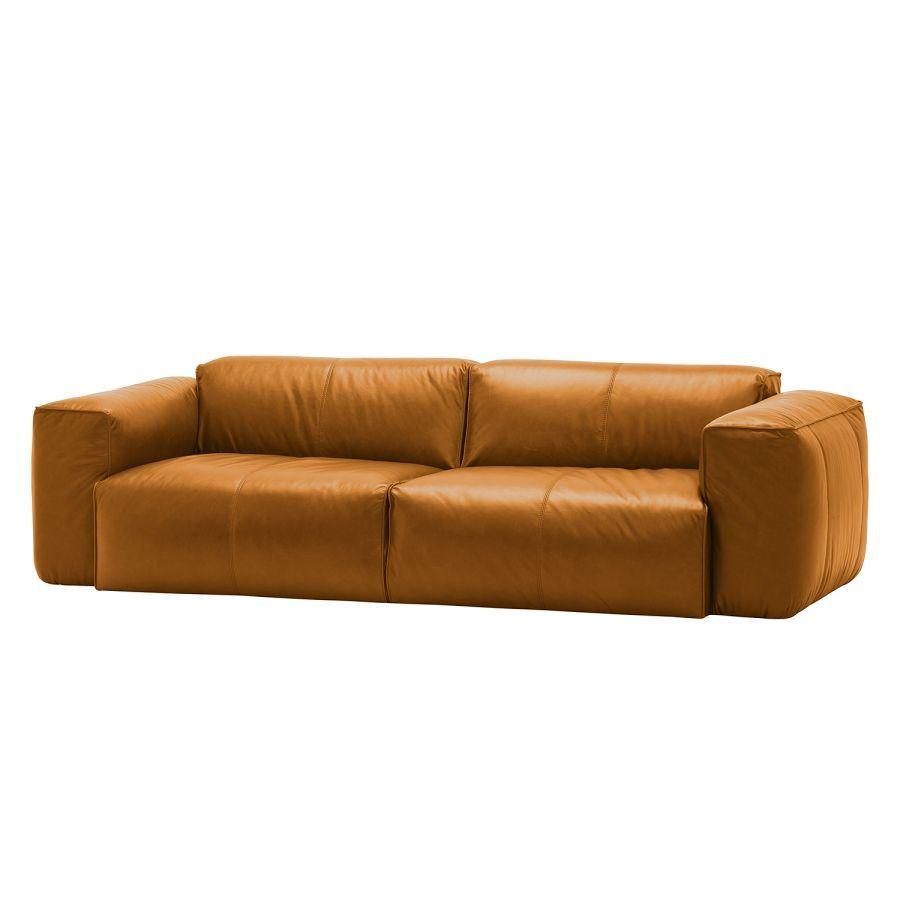 Verschiedene Couch Echtleder Das Beste Von Sofa Hudson Ii (3-sitzer) - Dub Cognac