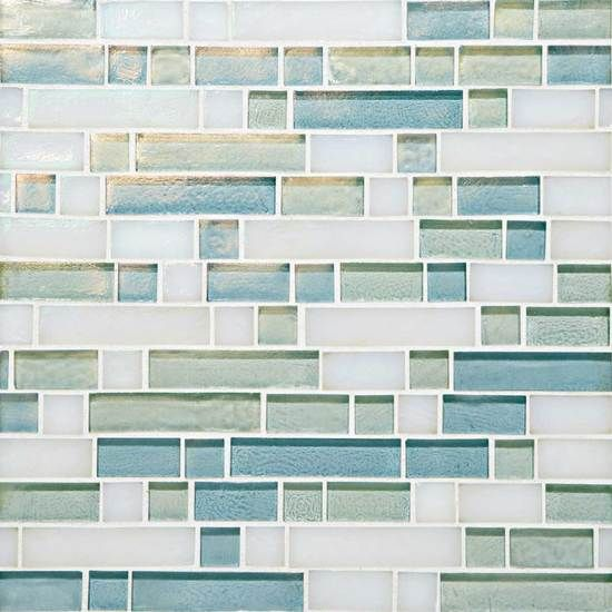mosaic tiled bathrooms daylight sky blend go09 random linear mosaic blends 13773