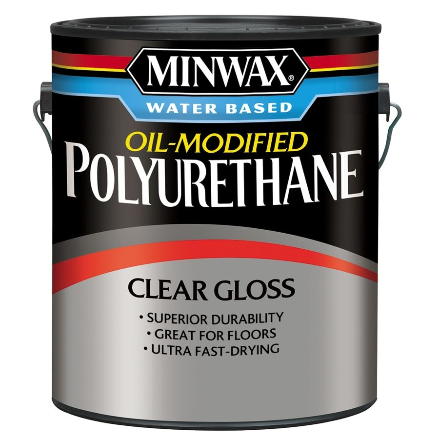 Minwax Oil Modified Gloss Oil Modified Polyurethane Actual Net Contents 128 Fl Oz 710310000 In 2020 Minwax Method Soap Sanding Wood