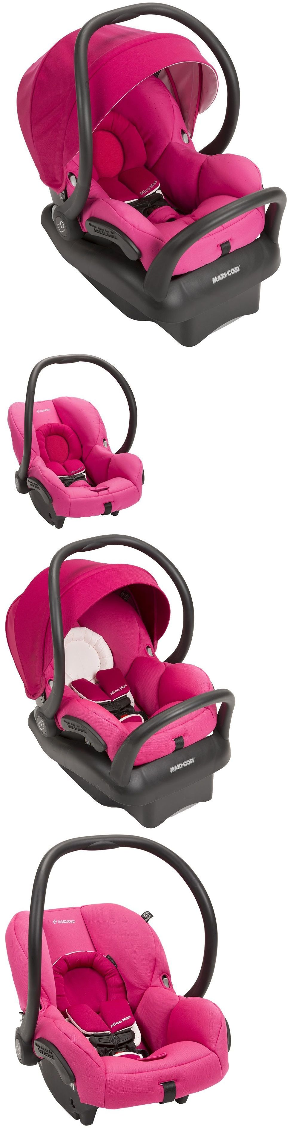 Maxi-Cosi Mico Max 30 Air Protect Infant Baby Car Seat w Base Pink ...