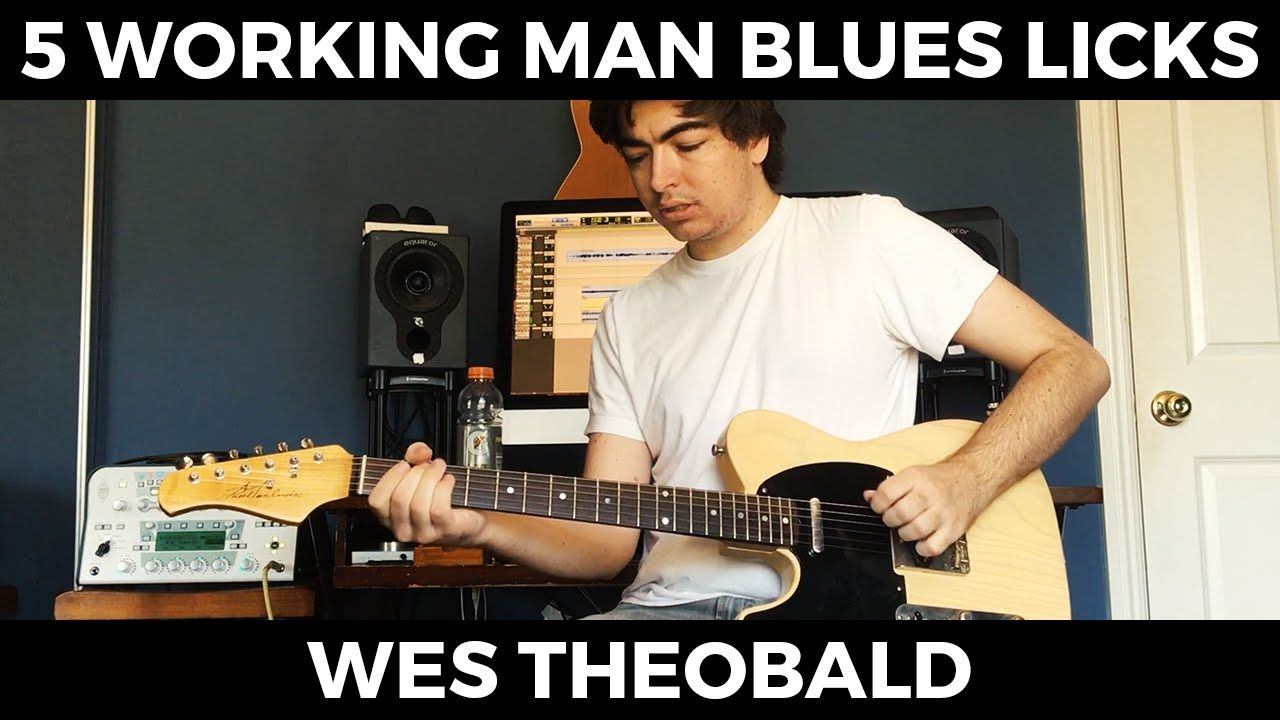 Working Man Blues Guitar Lesson Merle Haggard Guitar Licks Wes