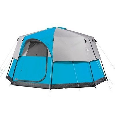 Other Tents and Canopies 179019 Coleman 2000014929 Octagon 98 13 X 13 8 Person Tent  sc 1 st  Pinterest & Other Tents and Canopies 179019: Coleman 2000014929 Octagon 98 13 ...