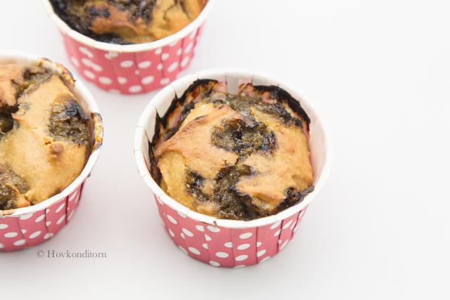 Licorice-Lemon Muffins