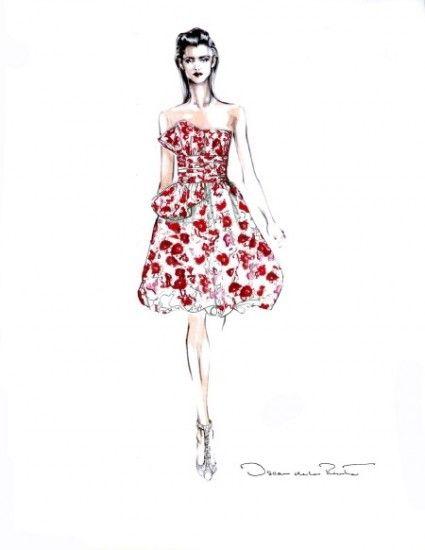 Short Dress Drawing : short, dress, drawing, Short, Dress, Drawing, Fashion, Dresses