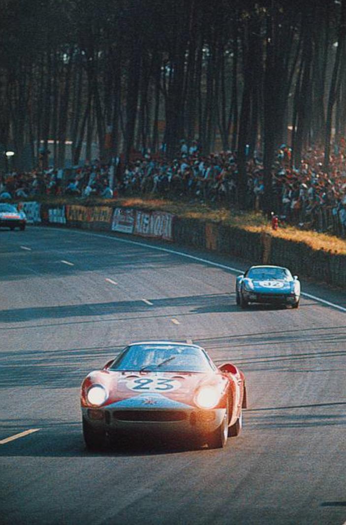 luimartins: Lucien Bianchi / Michel Salmon Ferrari Mans 1,965