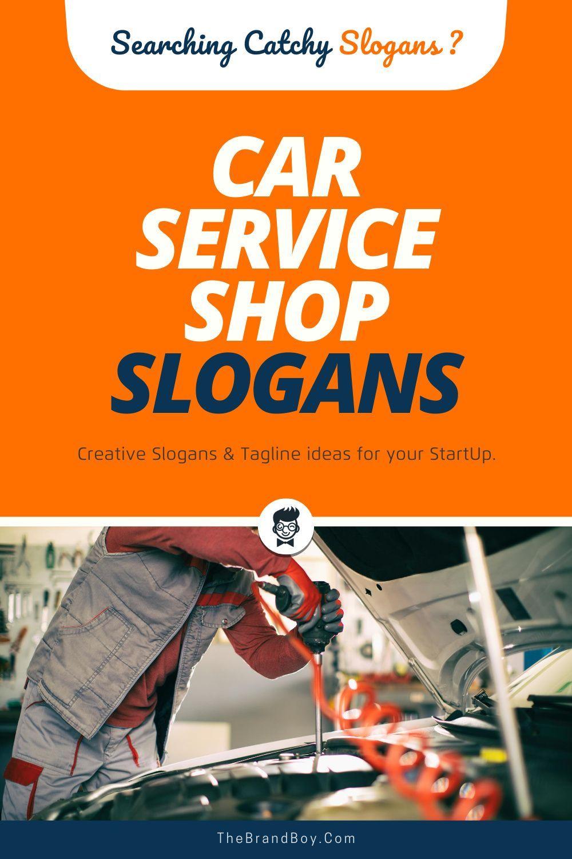 155+ Best Car Service Shop Slogans and Taglines