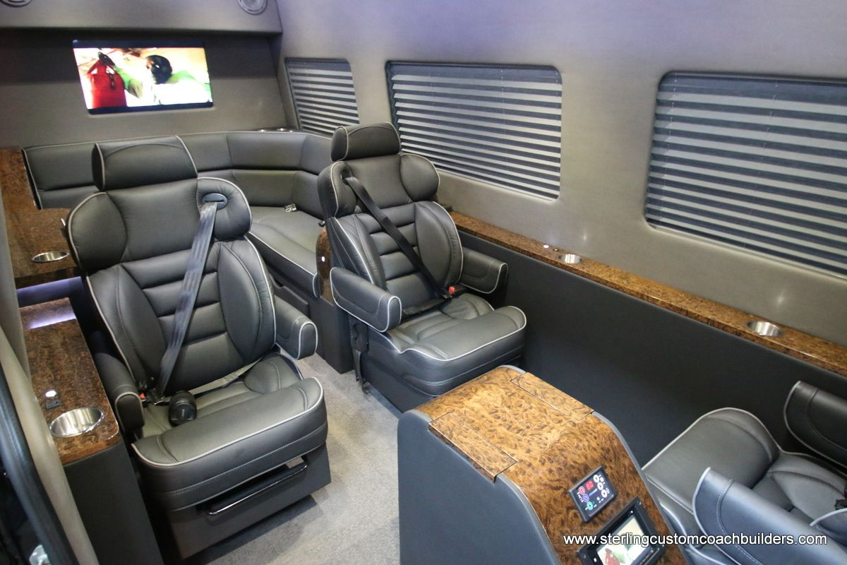 New 11 Passenger Mercedes Benz Sprinter Vans For Sale Call 816 569 6784 Conversion Vans For Sale Van Interior Sprinter Van