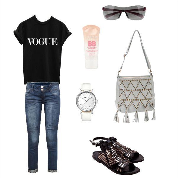 Domingo relax en blanco y negro para pasear por ahi Black and white look