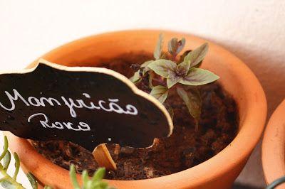 Dicas&Ideias: Jardinagem - Horta em casa