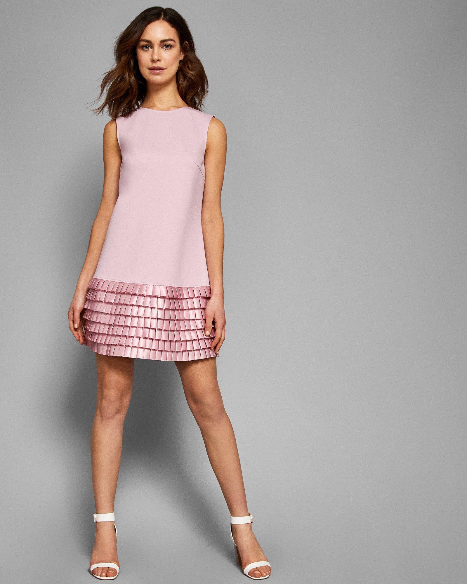 2b7264419 MARGGIA Satin loop shift dress  TedToToe Ted Baker Fashion