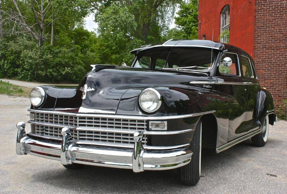 1947 Chrysler Windsor 4 Door | Chrysler | Pinterest | Windsor F.C. ...