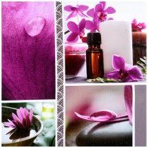 tableau toile cadre d co zen spa bien etre huiles essentielles rose zen deco feng shui zen. Black Bedroom Furniture Sets. Home Design Ideas