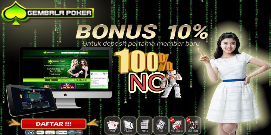 Pin di Poker Uang Asli