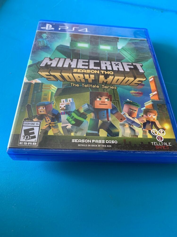 Minecraft Story Mode Season Two Season Pass Disc Sony