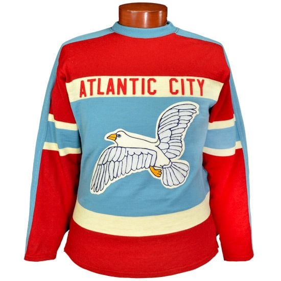 7646b904f38 Buy Atlantic City Seagulls Hockey Sweater