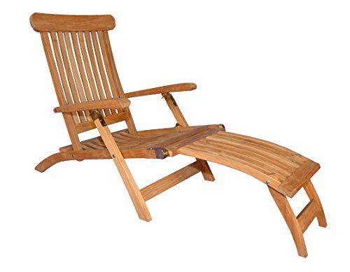 Teak Steamer Chair GOLDENTEAK Http://www.amazon.com/dp/