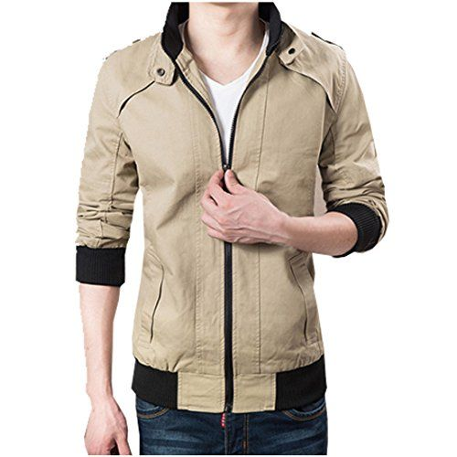 Partiss men's pure cotton casual outwear jacket for Autumn and Winter L Khaki Partiss http://www.amazon.com/dp/B0165CDX4G/ref=cm_sw_r_pi_dp_Z4p1wb042YBHX