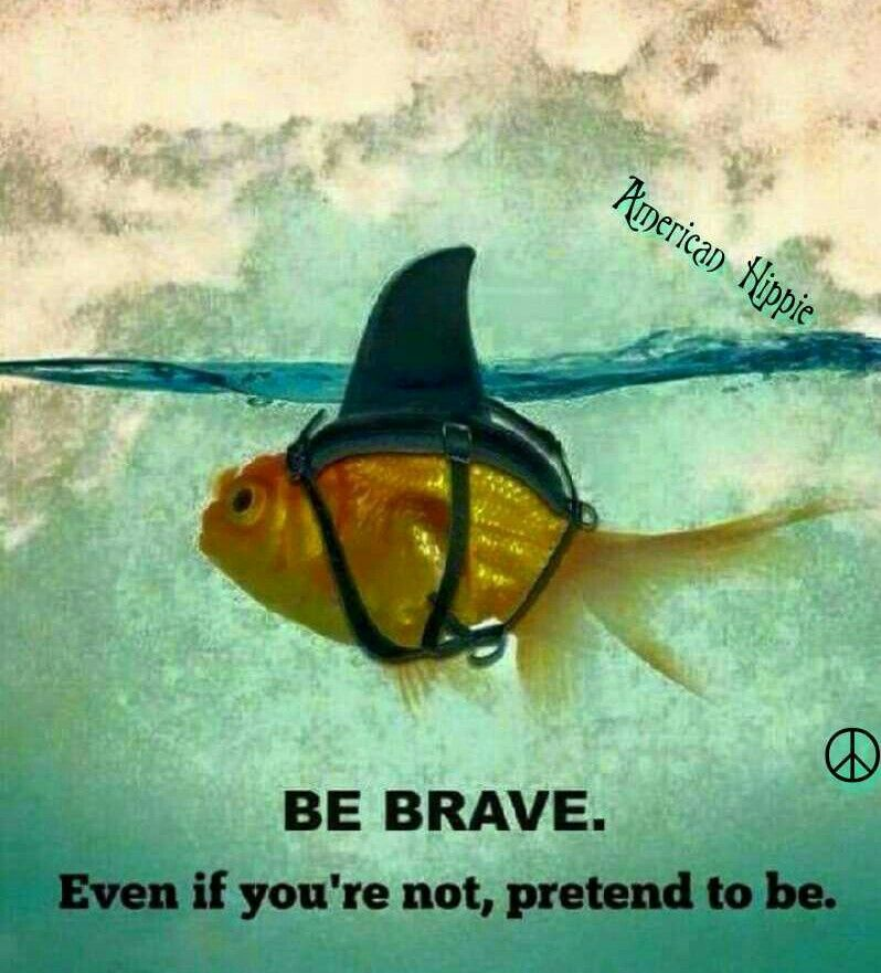 ☮ American Hippie ☮ Think Brave