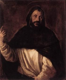 St Dominic - Titian